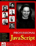 Professional Javascript 1st Edition