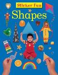 Sticker Fun: Shapes: With Over 50 Reusable Stickers