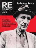Re Search 4 5 William S Burroughs Throbb