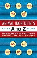 Animal Ingredients A To Z 3rd Edition
