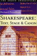 Shakespeare: Text Stage Cannon