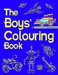 Boys' Colouring Book