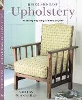 Quick & Easy Upholstery 15 Step By Step Easy To Follow Projects