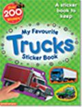 My Favourite Trucks Sticker Book: A Sticker Book to Keep