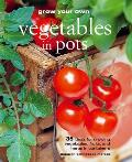 Grow Your Own Vegetables in Pots 35 Ideas for Growing Vegetables Fruits & Herbs in Containers