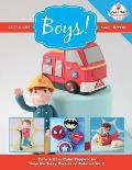 Cute & Easy Cake Toppers for Boys!