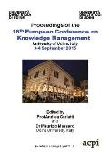Eckm 2015 - Proceedings of the 16th European Conference on Knowledge Management