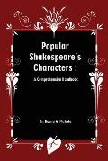 Popular Shakespeare' S Characters: A Comprehensive Handbook