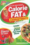 Calorieking Calorie Fat & Carbohydrate Counter 2016 Pocket Size Edition