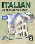 Italian In 10 Minutes A Day With Cd Rom