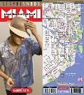 Streetsmart Miami Map by Vandam: Miami Beach & Gold Coast