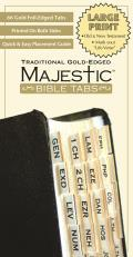 Majestic Bible Tabs, Traditional Gold-Edged