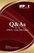Q & As For The Pmbok Guide Fifth Edition