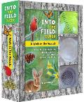 A Walk in the Woods: Into the Field Guide: A Hands-On Introduction to Cool, Common Critters, Trees, Flowers, and Rocks [With Paperback Book and Mesh C