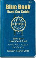 Kelley Blue Book Used Car Guide...