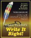 Write It Right Workbook #5: Conflict & Tension; Subplot
