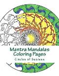 Mantra Mandalas Coloring Pages: Circles of Success