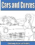 Cars and Curves: Adult Coloring Book