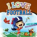 I Love Football: Christina Cover