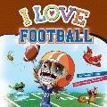 I Love Football: Tim Cover