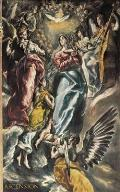 Ascension: 110-Page Pocket Diary with the Assumption of Mary Painting (5x8 Inches / Grey)