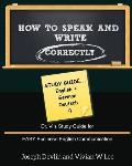 How to Speak and Write Correctly: Study Guide (English + German)
