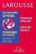 Larousse Standard French-English, English-French Dictionary