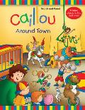 Caillou: Around Town: Search and Count Book