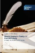 Nissim Ezekiel's Poetry- A Thematic Study