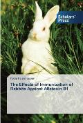 The Effects of Immunization of Rabbits Against Aflatoxin B1