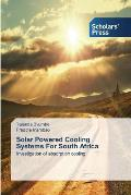 Solar Powered Cooling Systems for South Africa