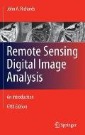 Remote Sensing Digital Image Analysis 5th Edition An Introduction