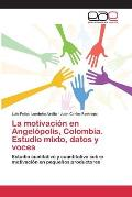 La Motivacion En Angelopolis, Colombia. Estudio Mixto, Datos y Voces