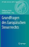 Grundfragen Des Europaischen Steuerrechts