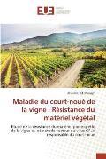 Maladie Du Court-Noue de La Vigne: Resistance Du Materiel Vegetal