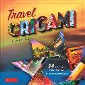 Travel Origami Turn Travel Memorabilia Into Unique Origami Fun