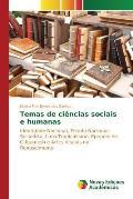 Temas de Ciencias Sociais E Humanas