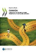 Back to Work Back to Work: Canada: Improving the Re-Employment Prospects of Displaced Workers