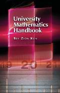 University Mathematics Handbook
