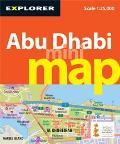 Abu Dhabi Mini Map, 3rd (Explorer - Mini Maps)