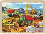 Construction 48pc Jigsaw: Educational Market Only