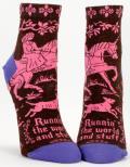 Runnin the World Ankle Socks
