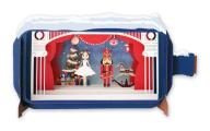 Message in a Bottle the Nutcracker 3D Pop Up Christmas Card
