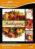 Boxed Card - Seasonal - Thanksgiving: Grateful Harvest