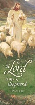 Christian Bookmark - The Lord Is My Shepherd
