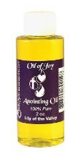 Anointing Oil Lily of Valley 2 Oz