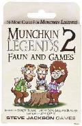Munchkin Legends 2 Faun & Games Game Expansion