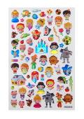 Spa; Frenaitsy Bitsy Stickers - Fairy Ta: Itsy Bitsy Stickers - Fairy Tales (1 Sheet)
