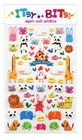 Spa; Frenaitsy Bitsy Stickers - Animal W: Itsy Bitsy Stickers - Animal World (1 Sheet)