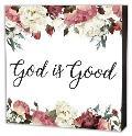 God Is Good Wood Box Sign